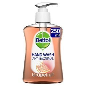 Dettol Liquid Hand Wash Antibacterial Grapefruit 250ml