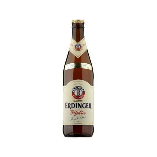 Erdinger Weissbier Wheat Beer Bottle 500ml