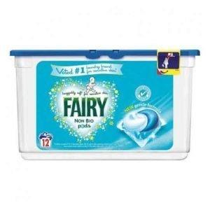 Fairy Non-Bio Pods Washing Capsules 12 Wash