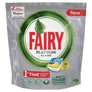 Fairy Platinum All In One Limone 10 Capsule