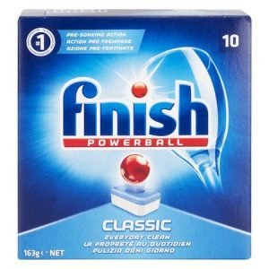 Great Quality Dishwasher Tablets From Finish Power Dishwasher Tabs With Pre-Sooaking Poweball