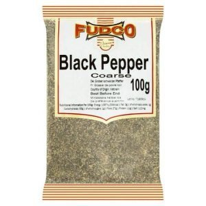 Fudco Black Pepper Coarse 100g