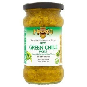 Fudco Hot Green Chilli Pickle 283g