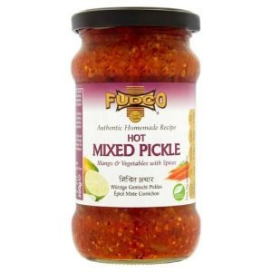 Fudco Hot Mixed Pickle Mango & Vegetables with Spices 300g