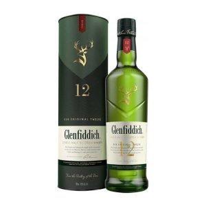Glenfiddich Whisky 12 Year Old Malt 70cl
