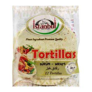 Istanbul Tortilla Wraps 12 30cm
