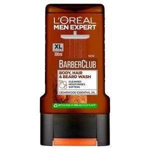 L'Oreal Expert Barber Club Body Hair & Beard Wash 300ml