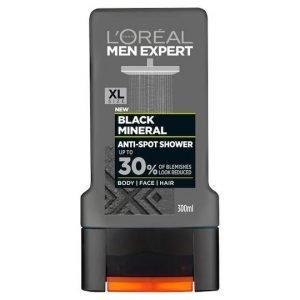 L'Oreal Men Expert Black Mineral Shower Gel 300ml