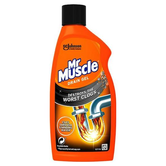 Mr Muscle Max Power Drain Unblocker Gel 500ml