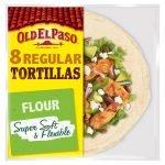 Old El Paso Regular Super Soft Flour Tortillas 8pcs 326g