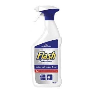 Flash Professional Sanitary Multi-Purpose Cleaner Spray 750ml