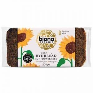 Biona Organic Rye Bread Sunflower Seed 500g
