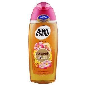 Right Guard Women Sensual & Oil Shower Gel 250ml
