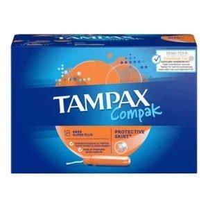 Tampax Compak Super Plus Applicator Tampons 18pcs
