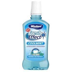 Wisdom Fresh Effect Coolmint Mouthwash 500ML