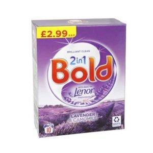 Bold 2 in 1 Powder Lavender & Camomile 10 Wash