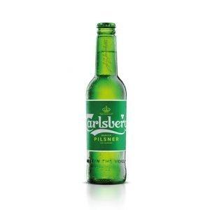 Carlsberg Premium Lager Beer Bottles 330ml