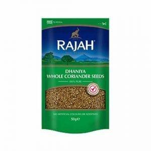 Rajah Dhaniya Whole Coriander Seeds 100g