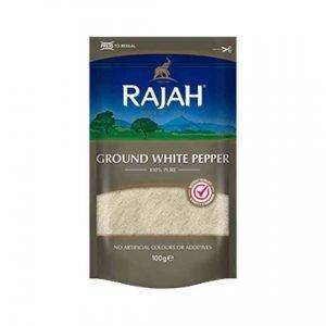 Rajah Ground White Pepper 100g