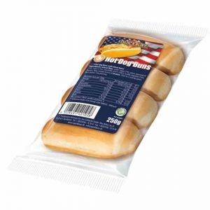 Quickbury Hot Dog Buns 4pcs 250g