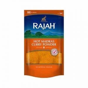 Rajah Hot Madras Curry Powder 100g - 400g