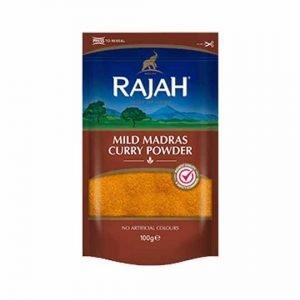 Rajah Mild Madras Curry Powder 100g - 400g