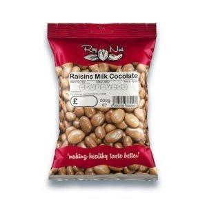 Roy Nut Raisins Milk Chocolate 200g