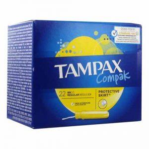 Tampax Regular Protective Skirt Tampons 20pcs