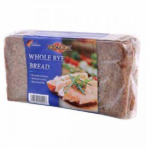 Quickbury Whole Rye Bread 500g