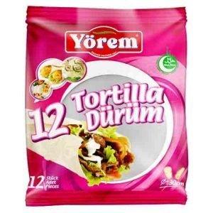 Yorem 12 Tortilla (Dürüm) 30cm 1kg