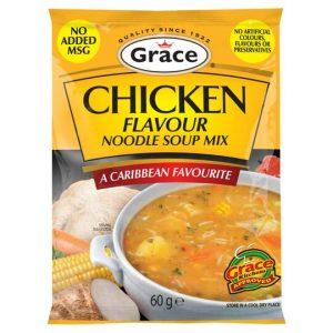 Grace Chicken Flavour Noodle Soup Mix 60g