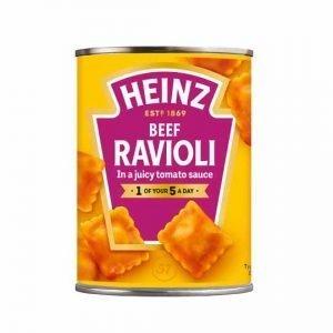 Heinz Beef Ravioli In Tomato Sauce 400g