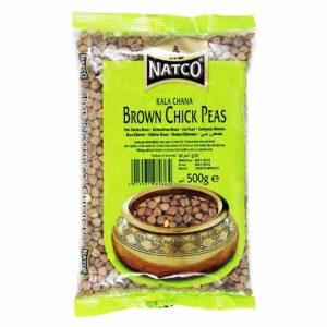 Natco Brown Chickpeas 500g