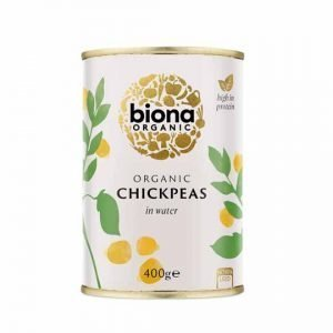 Biona Organic Chickpeas 400g