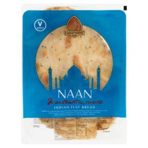 Currymate Naan Indian Flat Bread 240g