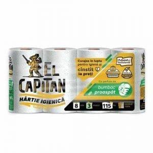 El Capitan Toilet Paper 8 Rolls