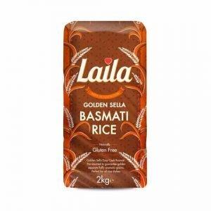 Laila Golden Sella Basmati Rice 2 Kg