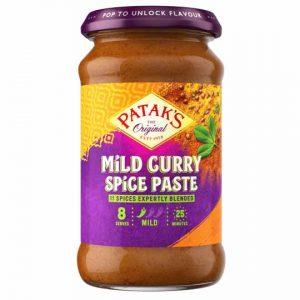 Patak's Mild Curry Spice Paste 283g