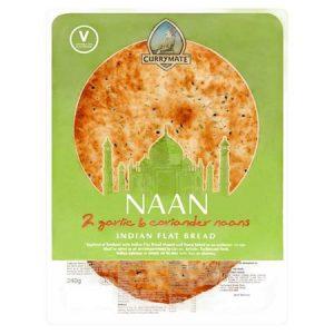 Currymate 2 Garlic & Coriander Naan