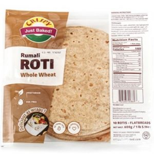 Crispy Rumali Roti Whole Wheat 600g