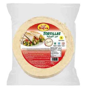 Sofra Durum Tortillas 378g