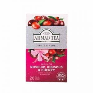 Ahmad Tea Rosehip, Hibiscus & Cherry Infusion