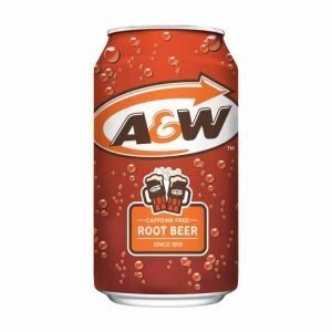 A&W Root Beer Caffeine Free 355ml
