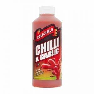Crucials Chilli & Garlic Marinade Hot Sauce 500ml