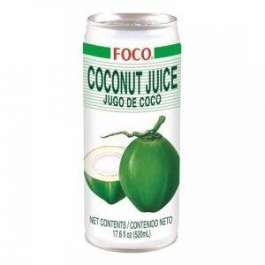 Foco Coconut Juice with Pulp 520ml