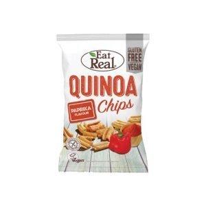 Eat Real Quinoa Paprika Flavour Chips 80g