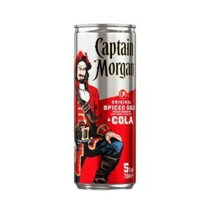 Captain Morgan Spiced Rum And Cola