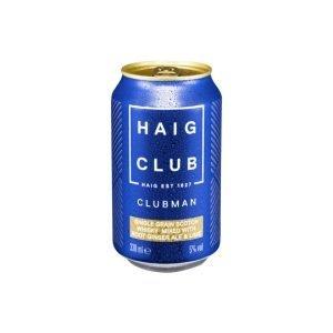 Haig Club Clubman Ginger Ale & Lime 330ml