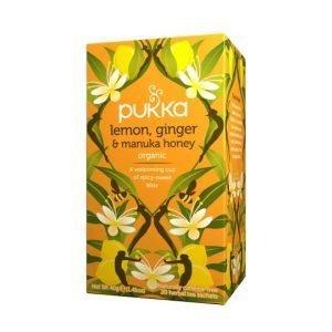 Pukka Lemon, Ginger & Manuka Honey 20 Tea Sachets