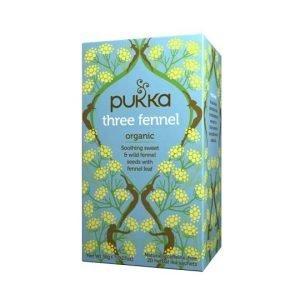 Pukka Three Fennel 20 Tea Sachets